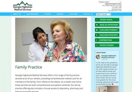 Hospital Group website